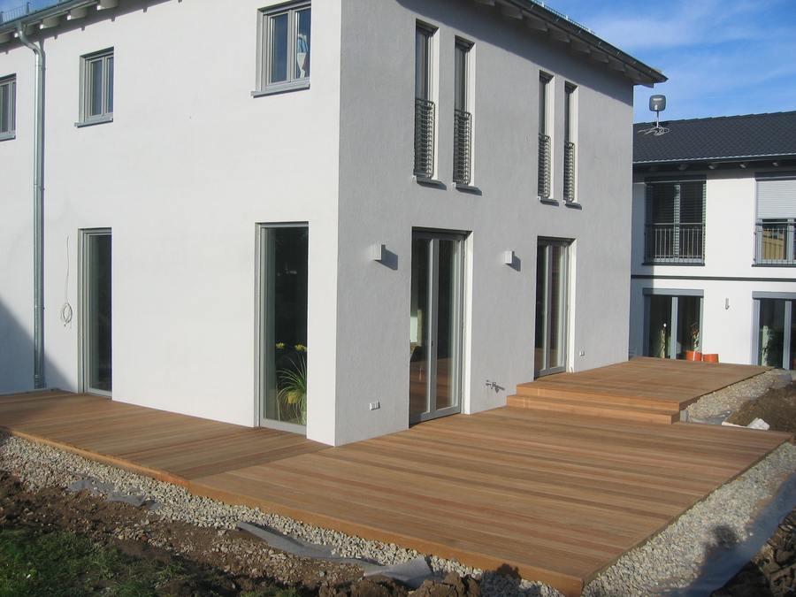 Balkon Terrasse Holz Im Garten Holzbau Partner Gmbh